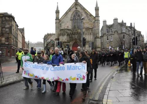 Edinburgh enviro march